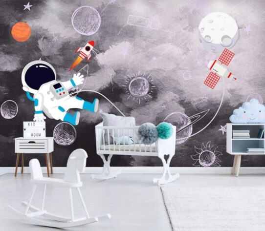 Cosmic Space Wall Murals Wallpaper