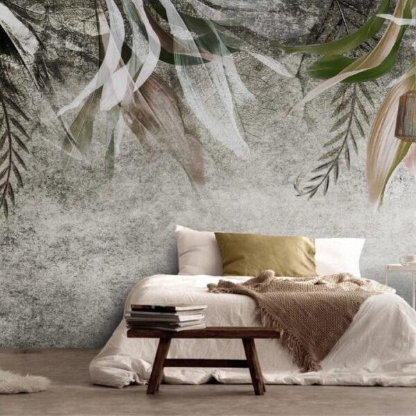 Abstract Concrete Wall Murals Wallpaper