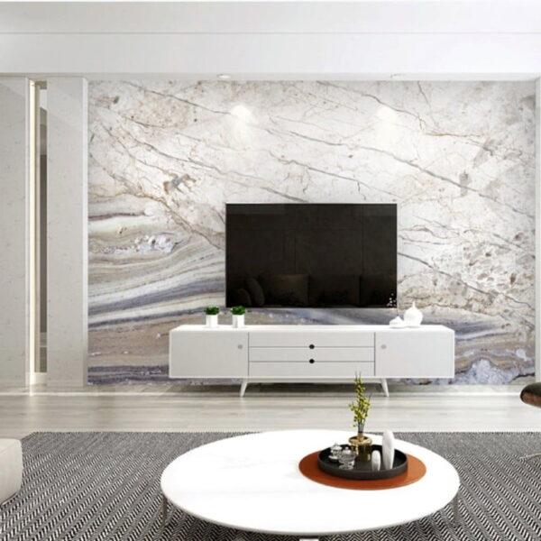 Abstract Light Bone Wall Murals Wallpaper