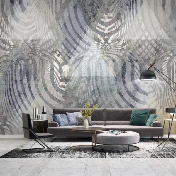 Abstract Circles Wall Murals Wallpaper