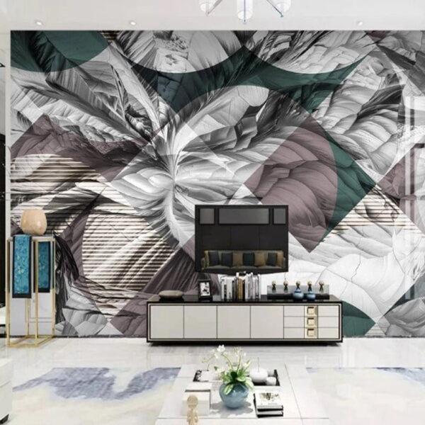 Square Design Wall Murals Wallpaper