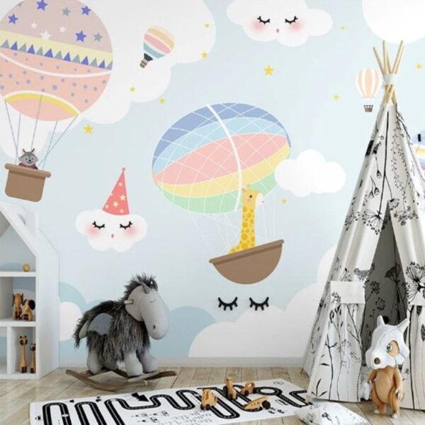 Sleeping Clouds Wall Murals Wallpaper