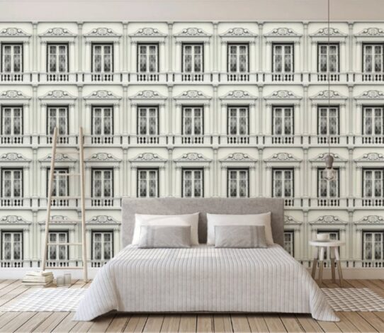 American Style Houses Wall Murals Wallpaper