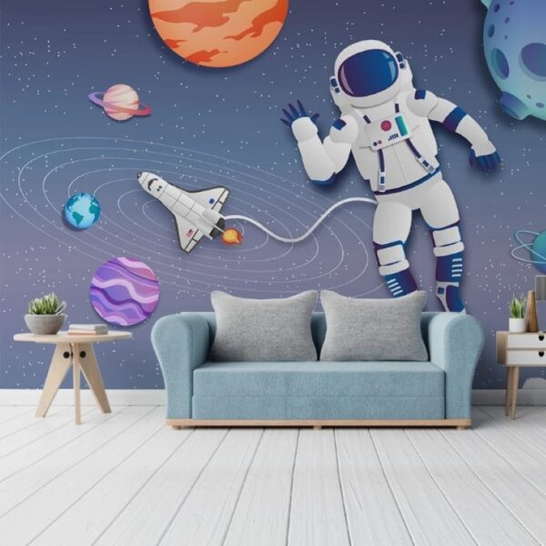 Spacecraft Wall Murals Wallpaper