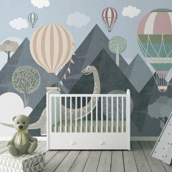 Baby Dinosaur Wall Murals Wallpaper
