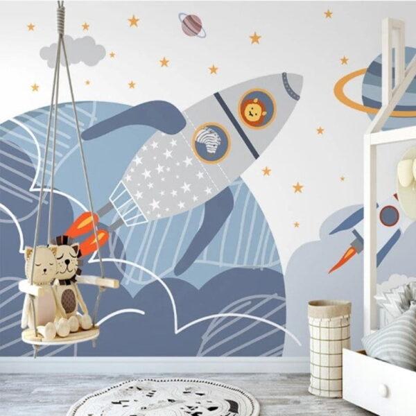 Rocket Wall Murals Wallpaper