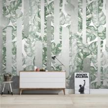 Banana Palm Leaves Wall Murals Wallpaper