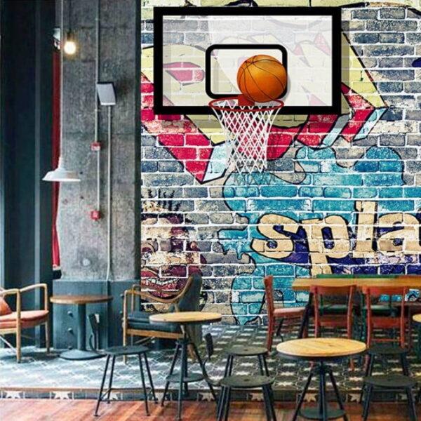 Basketball Wall Murals Wallpaper