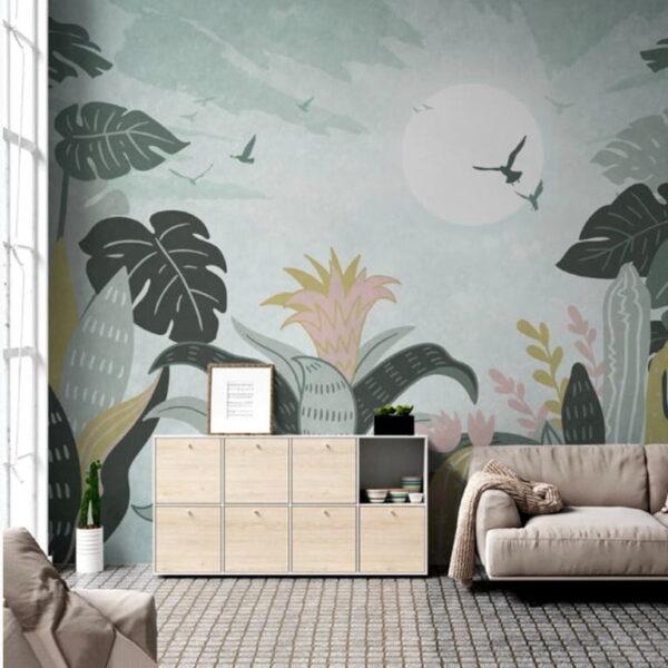 Full Moon Wall Murals Wallpaper