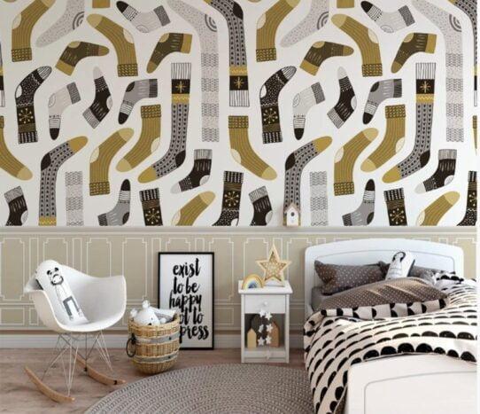Socks Wall Murals Wallpaper