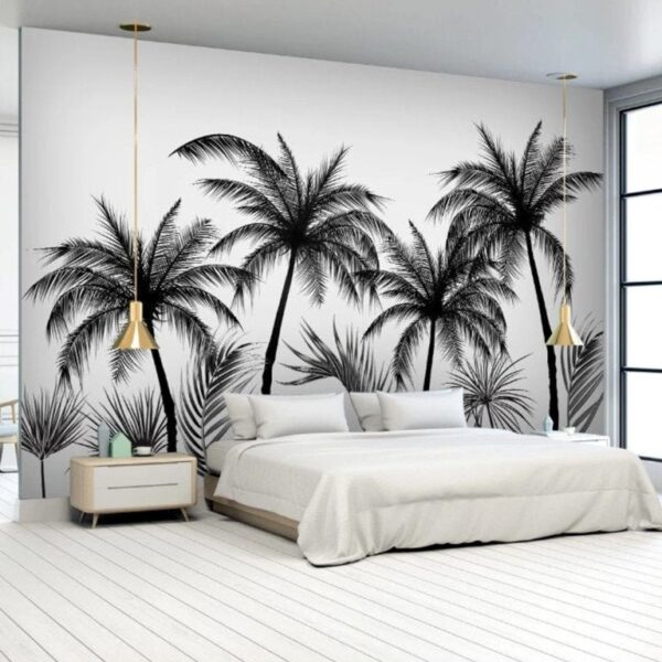 Coconut Palm Trees Wall Murals Wallpaper