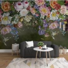 Garden Flowers Wall Murals Wallpaper