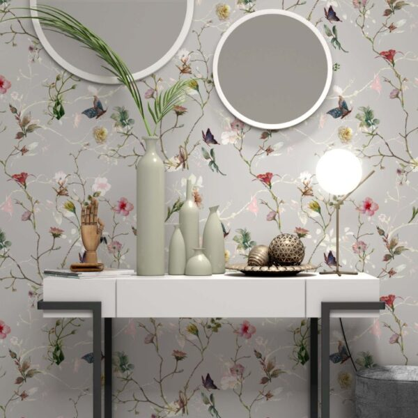 Leaves Chinoiserie Wall Murals Wallpaper