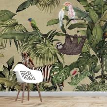 Cute Widlife Animals Wall Murals Wallpaper