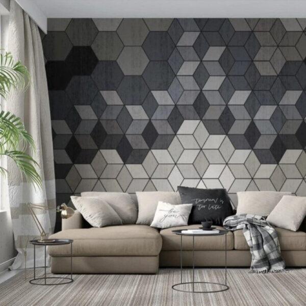Cubes Wall Murals Wallpaper