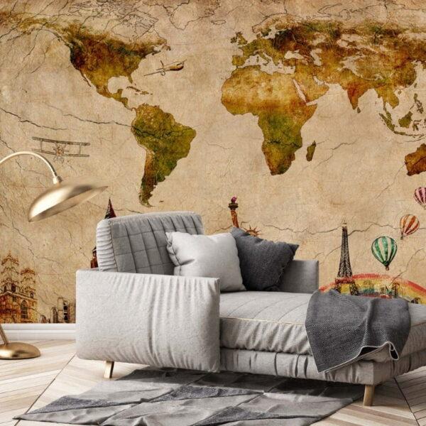 European Wall Murals Wallpaper