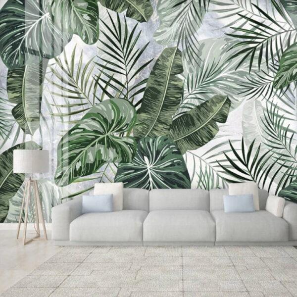 Exotic Plants Wall Murals Wallpaper