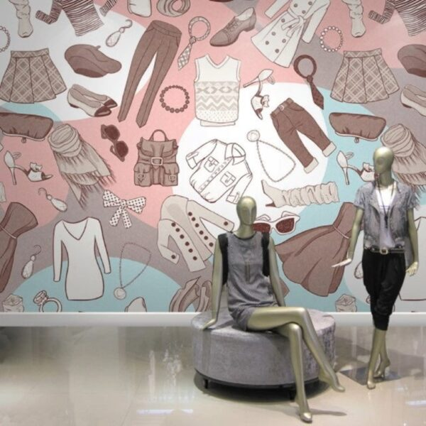 Fashion Wall Murals Wallpaper