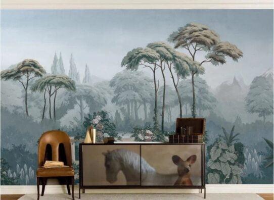 Tropical Rainforest Wall Murals Wallpaper