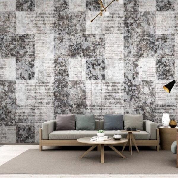 Geometric Square Wall Murals Wallpaper