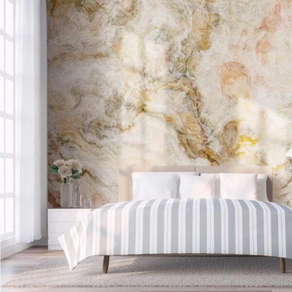 Golden Look Sky Wall Murals Wallpaper