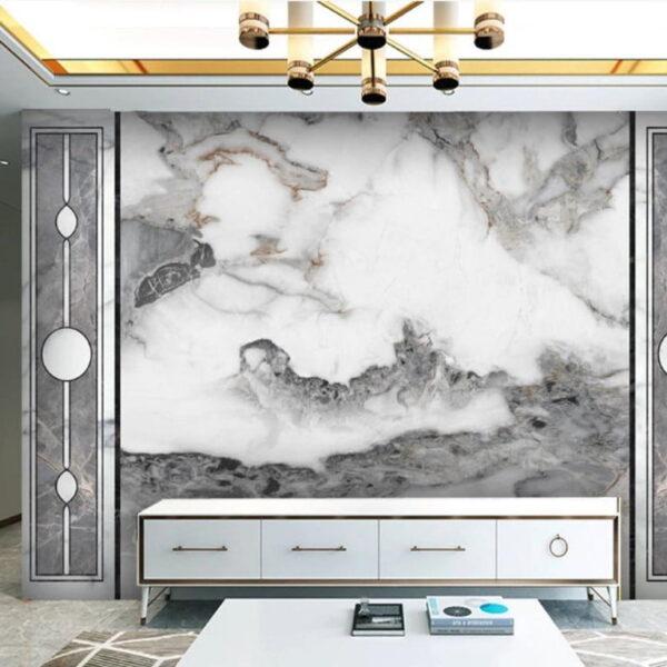 Heavy Rain Clouds Wall Murals Wallpaper