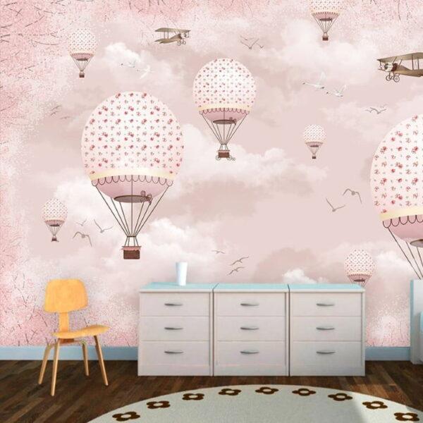 Birds Flowers Wall Murals Wallpaper