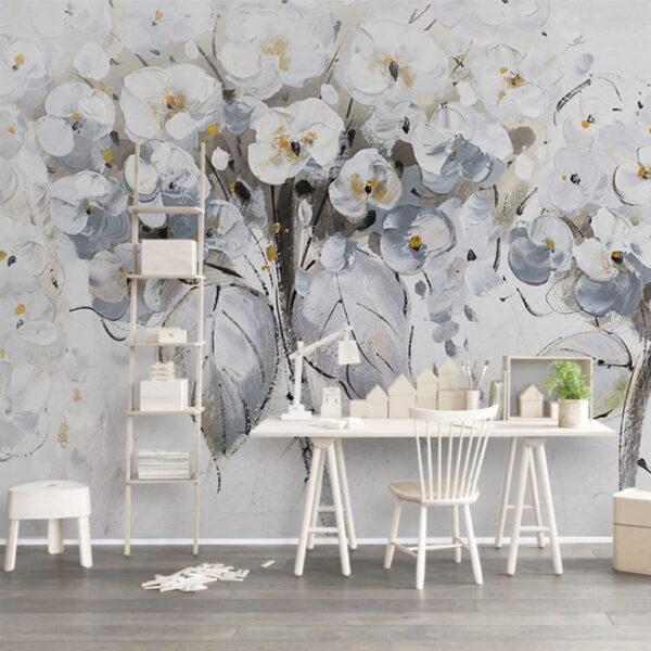 Magnolia Tree Wall Murals Wallpaper