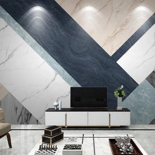 Luxury Marble Texture Wall Murals Wallpaper