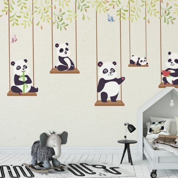 Panda Wall Murals Wallpaper