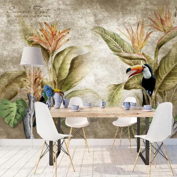 Parrot Wall Murals Wallpaper