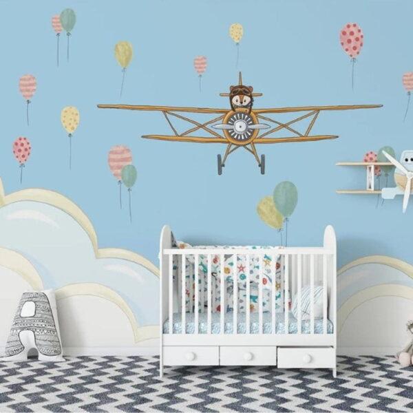 Plane Wall Murals Wallpaper
