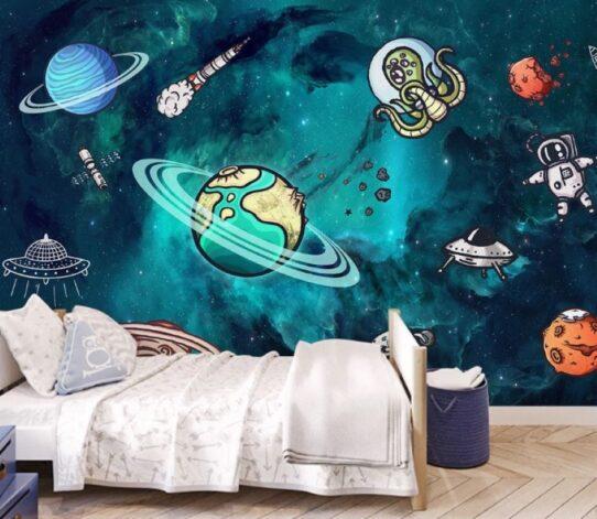 Dark Matter Wall Murals Wallpaper