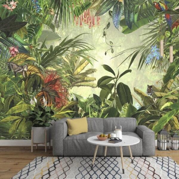 Tropical Wall Murals Wallpaper