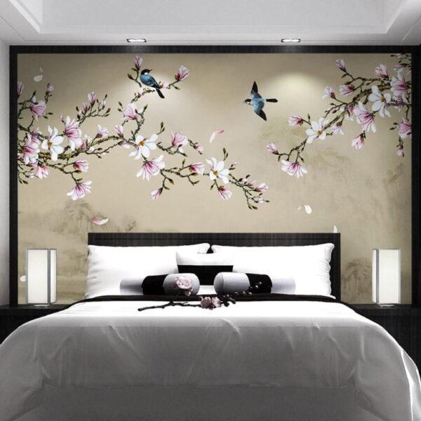Sakura Flower Wall Murals Wallpaper