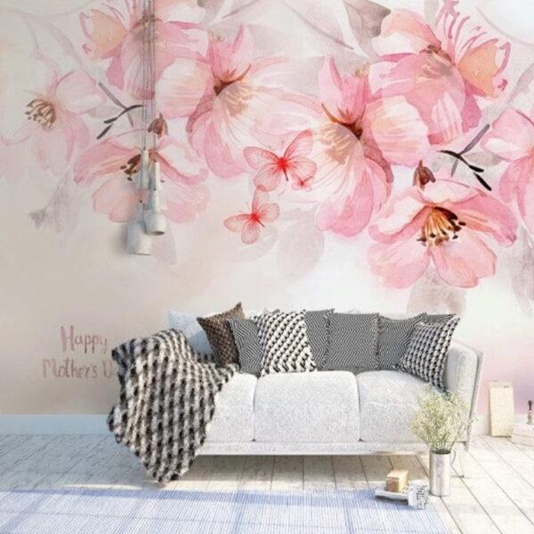 Cherry Blossom Wall Murals Wallpaper