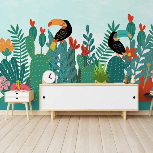 Toucan Wall Murals Wallpaper