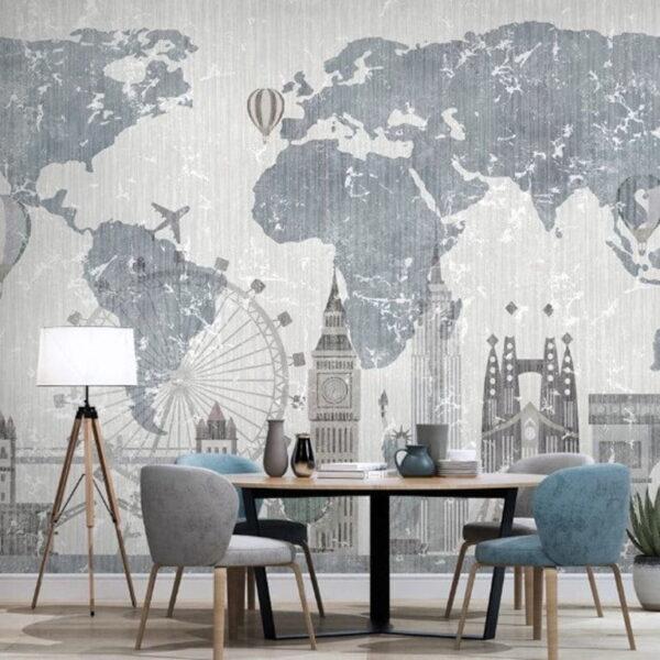 Clock Tower Wall Murals Wallpaper