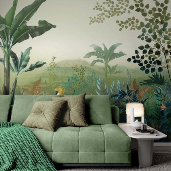 Rainforest Wall Murals Wallpaper